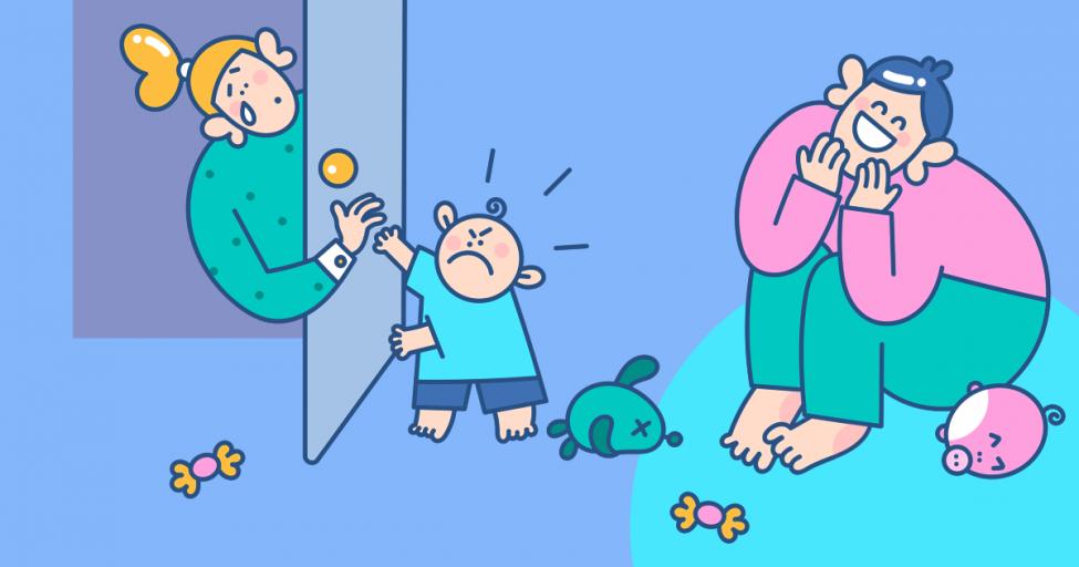 Мама, уходи: почему ребенок прогоняет родителя