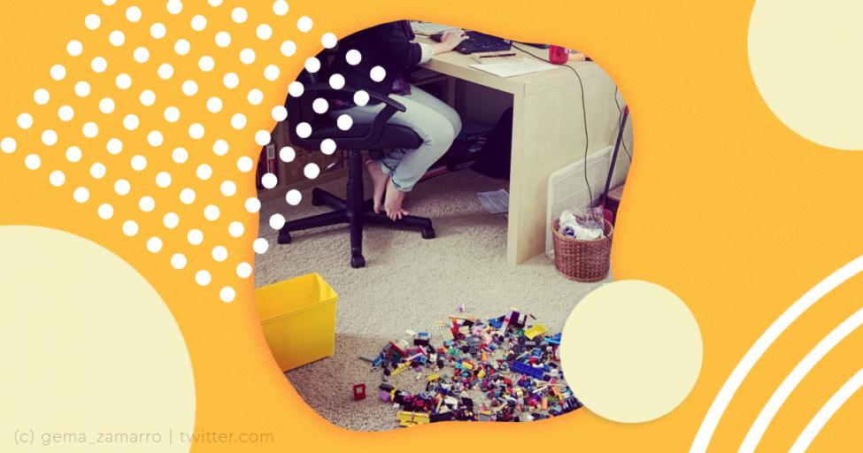 Работающая мама поделилась честным фото своих будней и стала звездой Твиттера