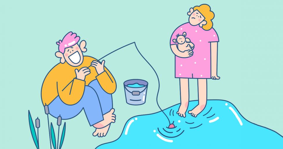 Разделение семейных обязанностей на мужские и женские — это устаревшая фигня: расшатываем скрепы вместе с Ирой Зезюлиной
