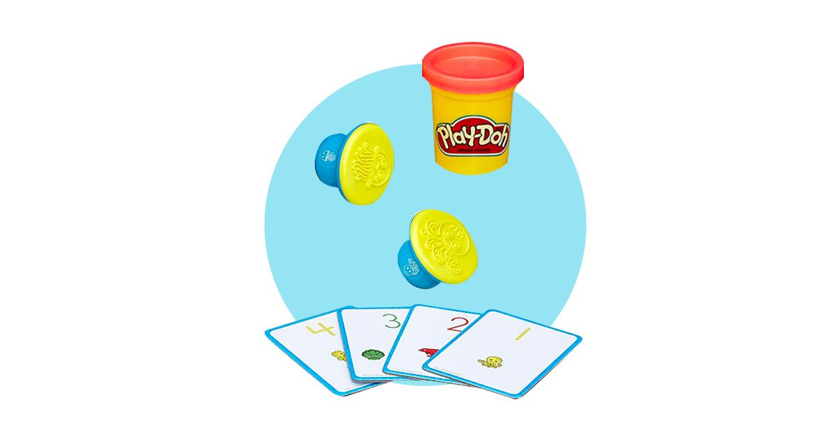 "Play-Doh Лепи и Изучай ""Числа и счет"""