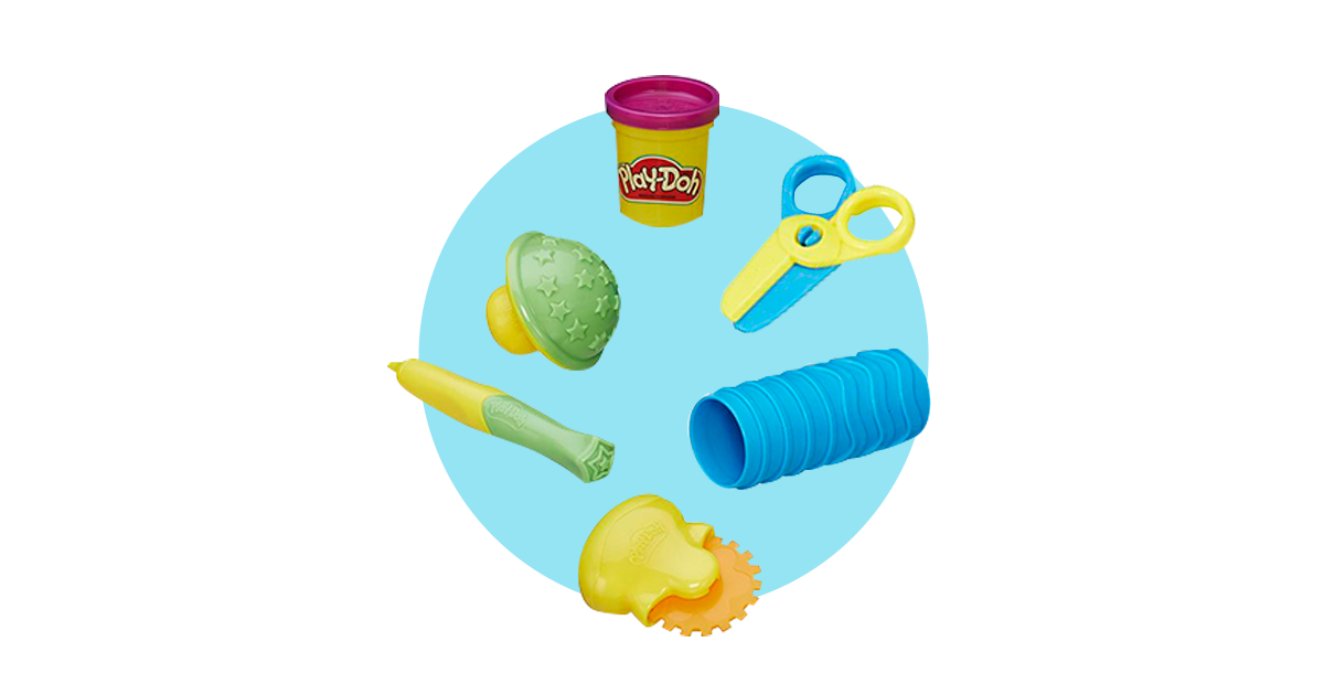 Play-Doh Лепи и Изучай Текстуры и Инструменты